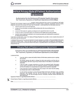 HIPPA Authorization English